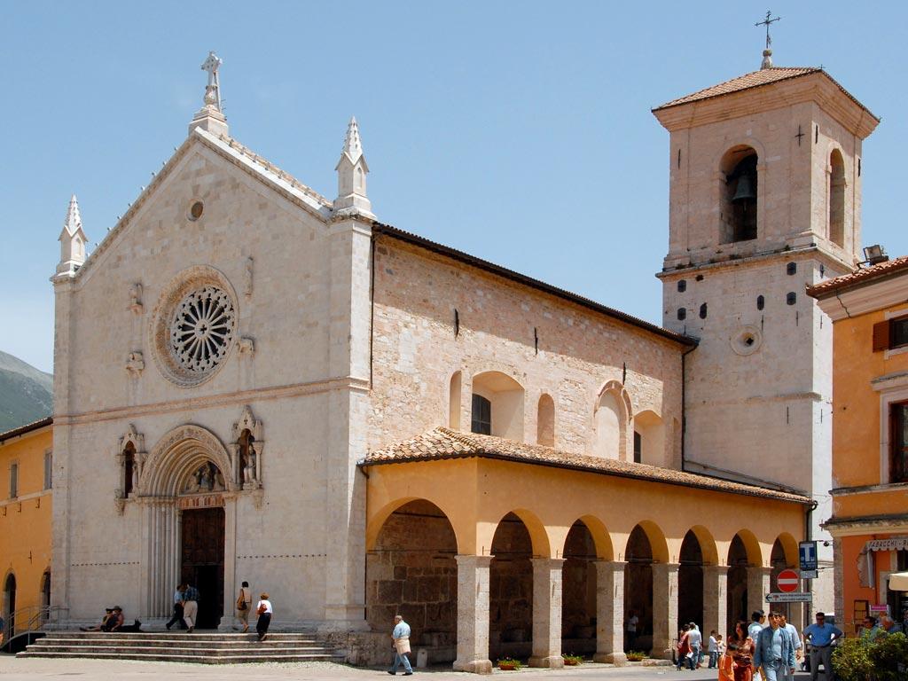 Cascia e Norcia Basilica di San Benedetto