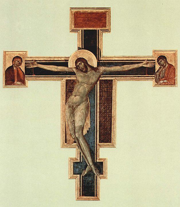 CAPRESE MICHELANGELO e Arezzo, Crocifisso di Santa Croce