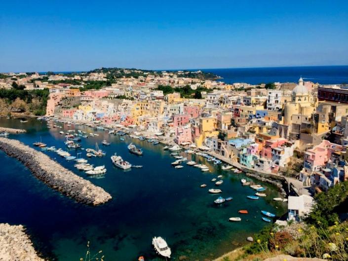Ischia, Napoli E Procida