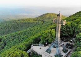 Radicofani, fortezza e vetta del monte Amiata