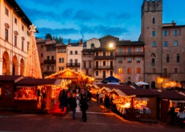 """Arezzo: il """"villaggio tirolese"""""""