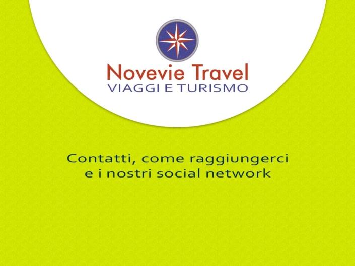 Novevie Travel Firenze - contatti e come raggiungerci