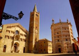 Il Duomo e il Battistero di Parma