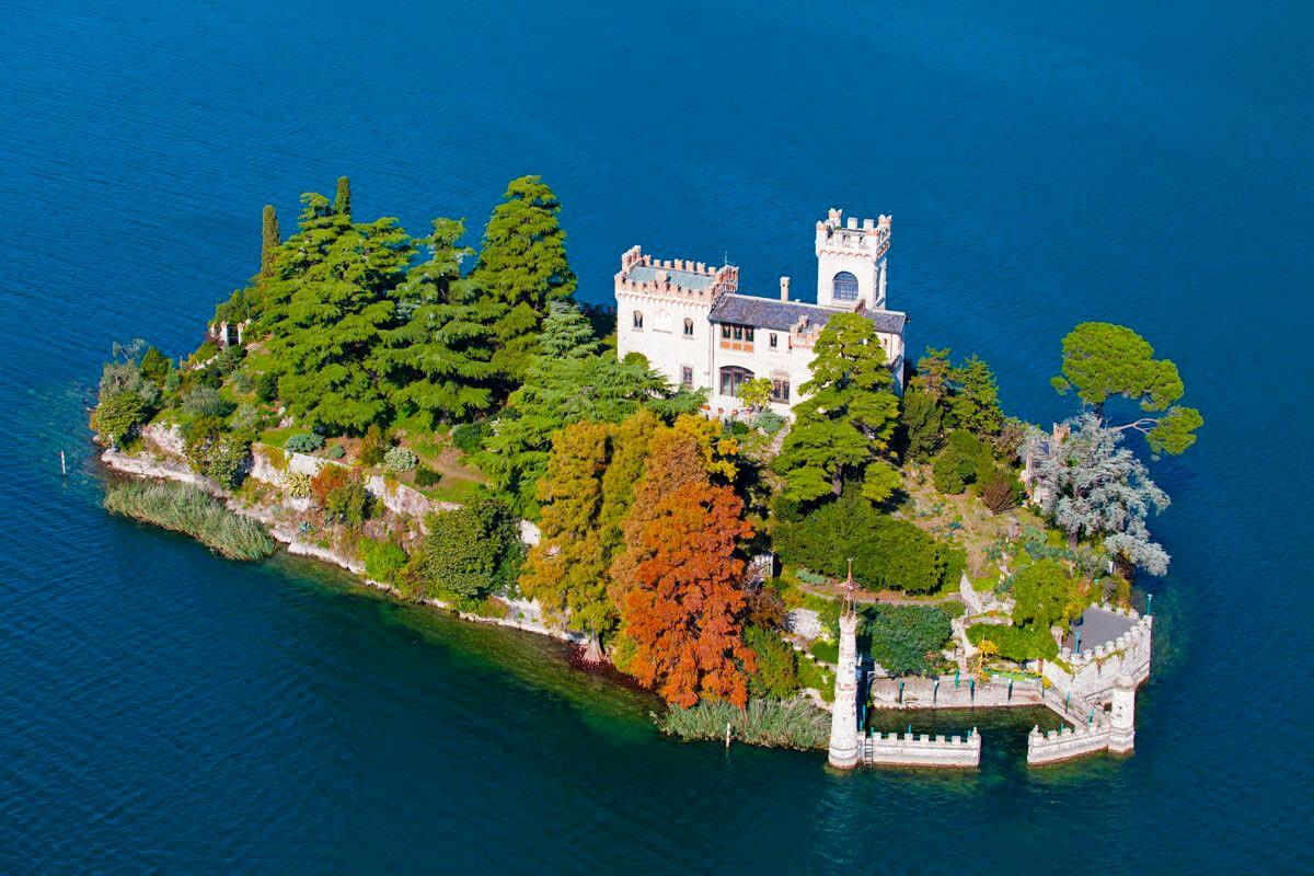 lago Iseo Isola Di Loreto