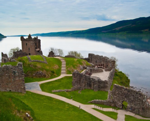 Scozia Tour - lago Loch Ness