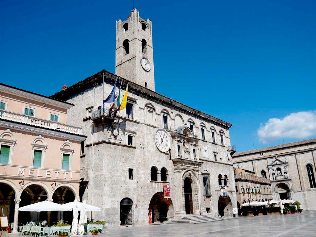 palazzo del Capitano del Popolo Ascoli Piceno