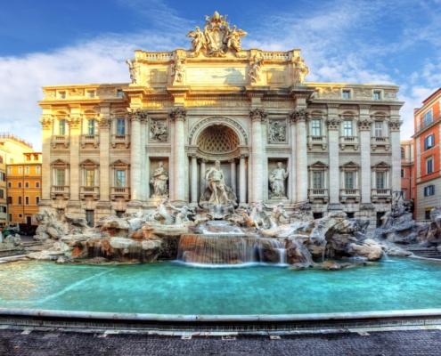 Roma fontana di trevi