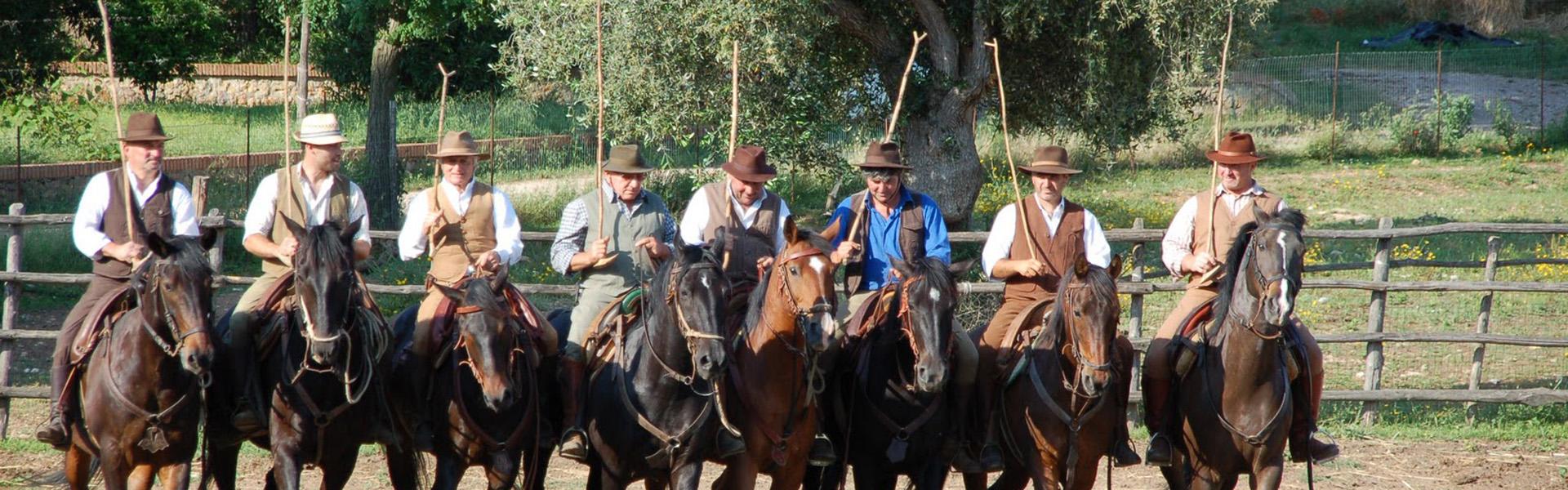 spettacolo Butteri - Castiglione Pescaia
