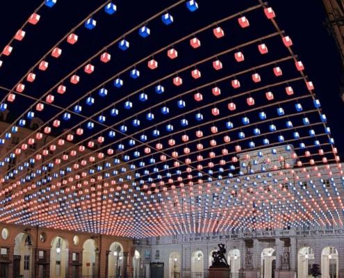 Stupinigi, Torino luci d'artistaTorino luci d'artista