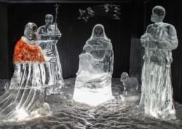 Umbria presepe ghiaccio Massa Martana