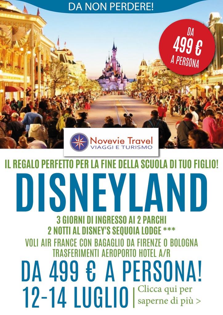 viaggi 2019 - Disneyland Paris luglio